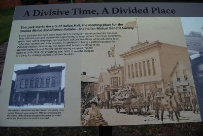 A Devisive Time, A Divided Place image. Click for full size.