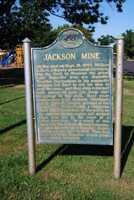 Jackson Mine Marker image. Click for full size.