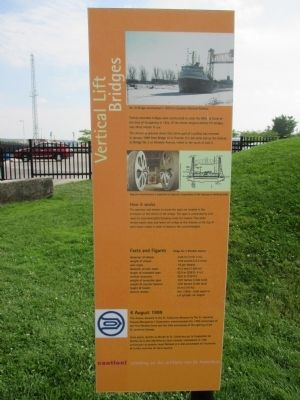 Vertical Lift Bridges Marker image. Click for full size.