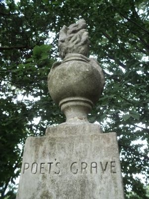 Poet's Grave Marker image. Click for full size.