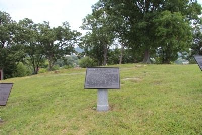61st Ohio Infantry Marker image. Click for full size.