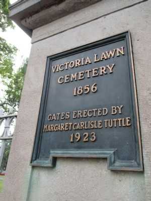 Victoria Lawn Cemetery image. Click for full size.