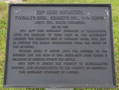 82nd Ohio Infantry Marker image. Click for full size.