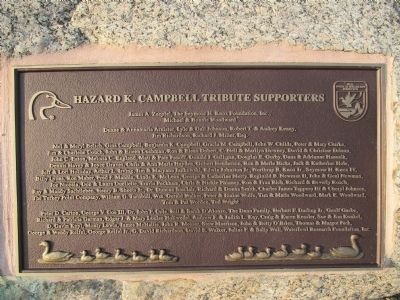 Tribute Plaque image. Click for full size.