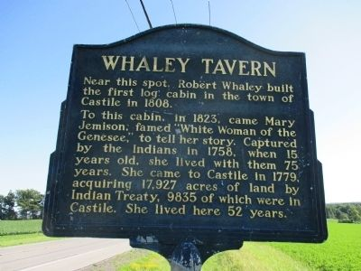 Whaley Tavern Marker image. Click for full size.