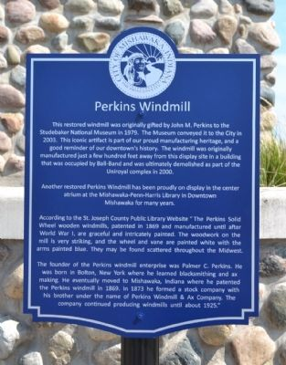 Perkins Windmill Marker image. Click for full size.