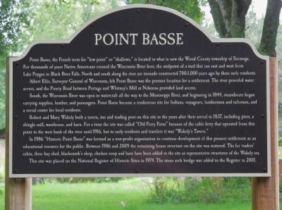 Point Basse Marker image. Click for full size.