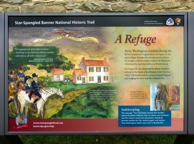 A Refuge Marker image. Click for full size.