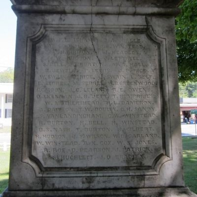 Northumberland Confederate Monument image. Click for full size.