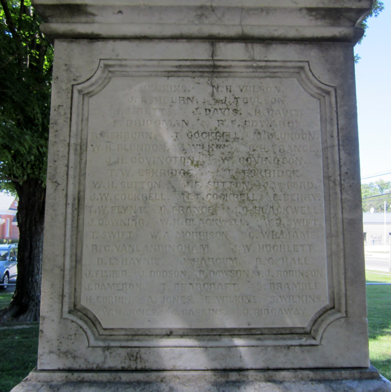 Northumberland Confederate Monument