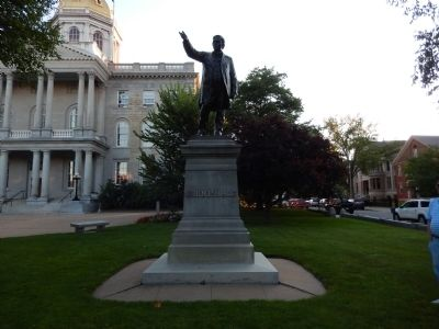 John P. Hale Statue image. Click for full size.