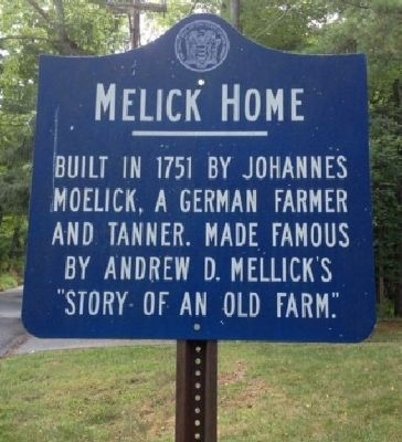 Melick Home Marker image. Click for full size.