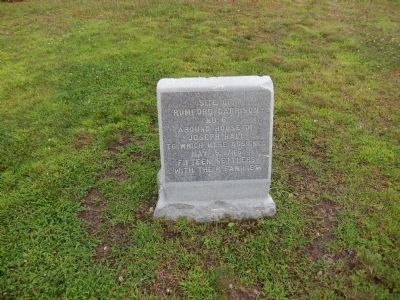 Site of Rumford Garrison No. 6 Marker image. Click for full size.