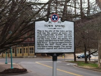 Town Spring Marker image. Click for full size.
