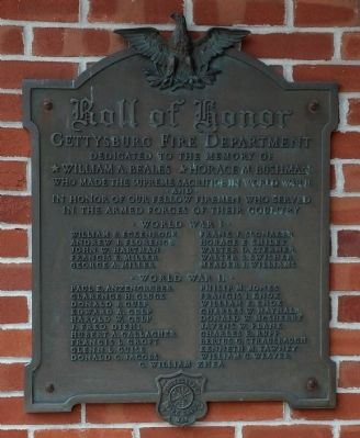 Roll of Honor Memorial image. Click for full size.