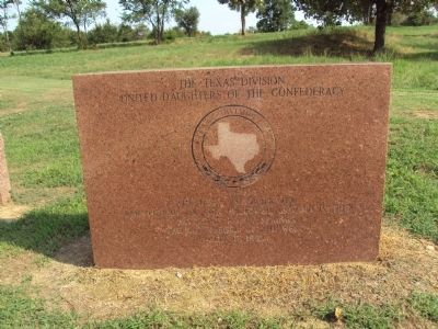Texas Monument at the Battle of Honey Springs Marker image. Click for full size.