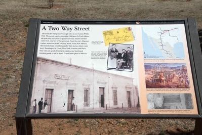 A Two Way Street Marker image. Click for full size.