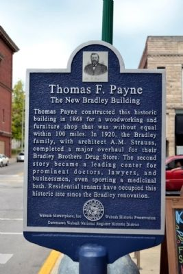 Thomas F. Payne Marker image. Click for full size.