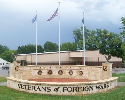 Veterans of Foreign Wars War Memorial image. Click for full size.