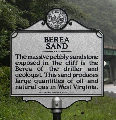 Berea Sand Marker image. Click for full size.