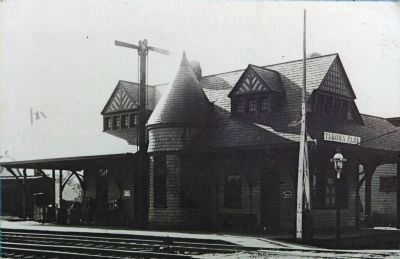 The Takoma Park Railroad Station image. Click for full size.