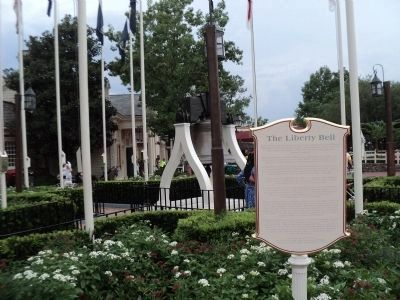 The Liberty Bell Marker in Liberty Square image. Click for full size.