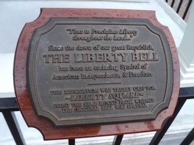 Second Liberty Bell Marker image. Click for full size.