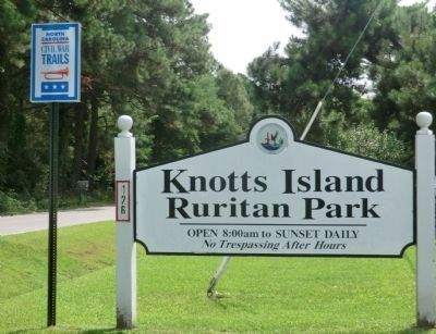 Knotts Island Ruritan Park image. Click for full size.