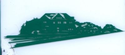The Big Four Railroad Depot image. Click for full size.