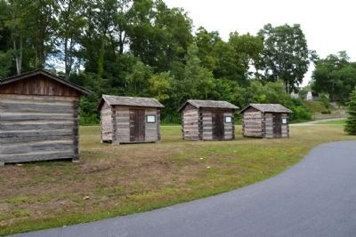 Cabins of Treaty Commissioners image. Click for full size.