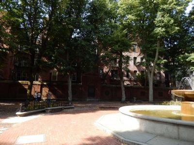 Paul Revere Mall image. Click for full size.