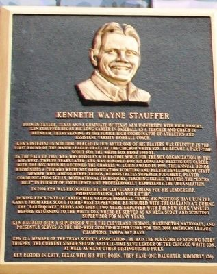 Kenneth Wayne Stauffer Marker image. Click for full size.