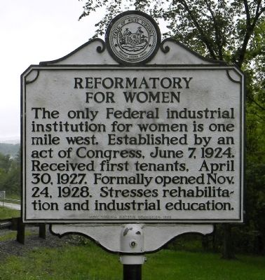 Reformatory for Women Marker image. Click for full size.