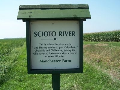 Headwaters of Scioto River Marker image. Click for full size.