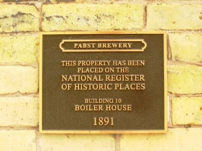 Pabst Brewery Marker image. Click for full size.