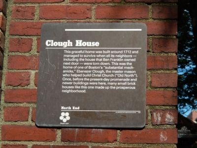 Clough House Marker image. Click for full size.
