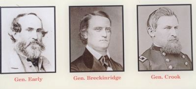 Generals Early, Breckinridge, and Crook image. Click for full size.