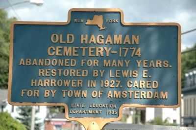 Old Hagaman Cemetery 1774 Marker image. Click for full size.