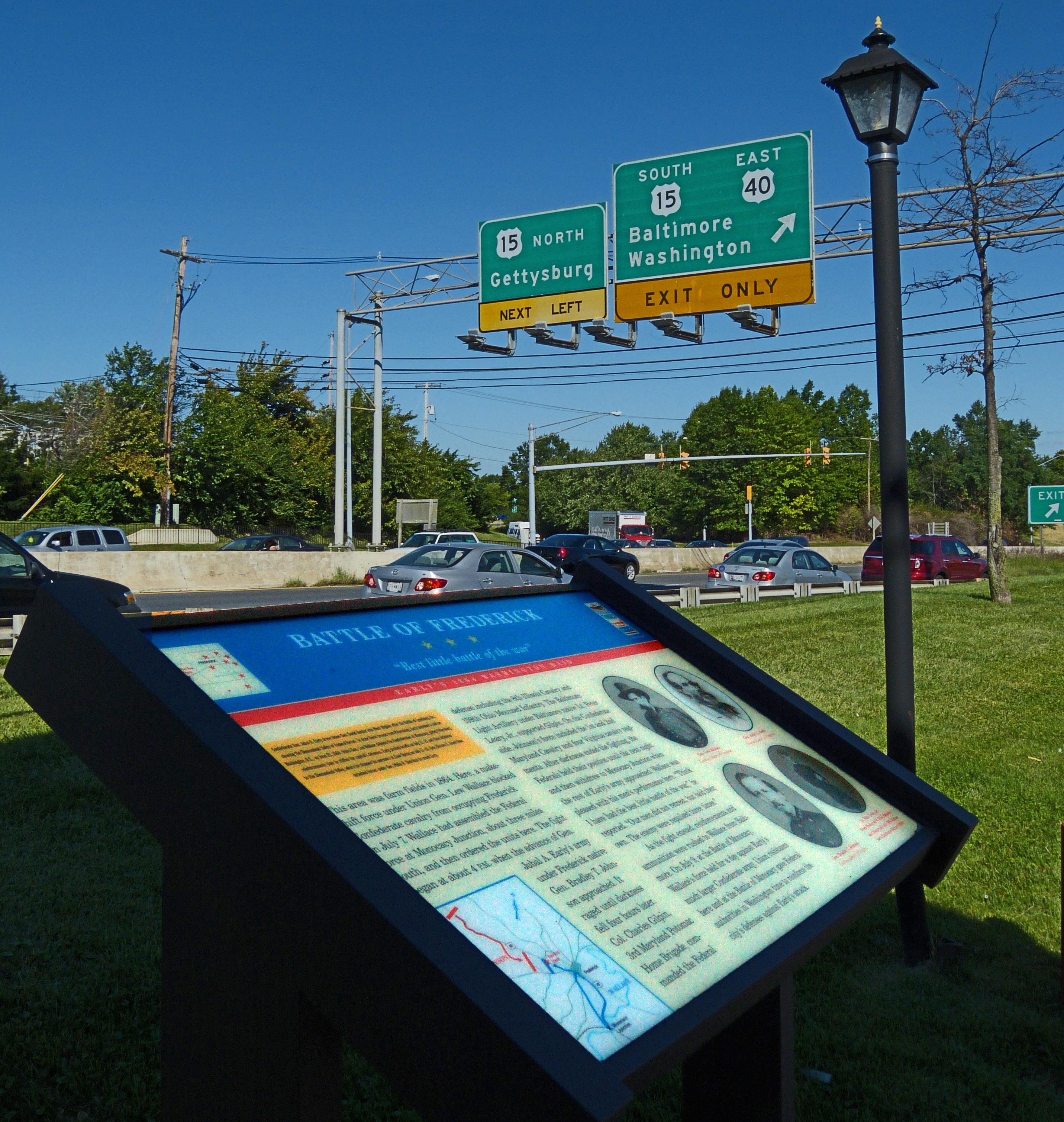 Battle of Frederick Marker