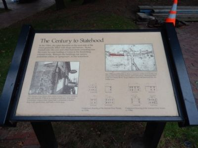 The Century to Statehood Marker image. Click for full size.