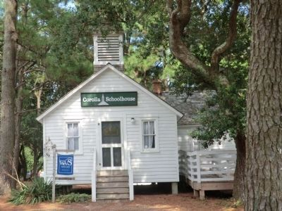 Corolla Schoolhouse image. Click for full size.
