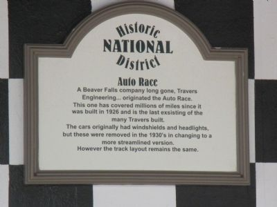 Auto Race Marker image. Click for full size.