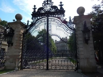 The Breakers Entrance Gate image. Click for full size.