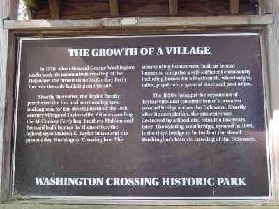 The Growth of a Village Marker image. Click for full size.