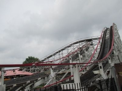 Kennywood's Thunderbolt image. Click for full size.