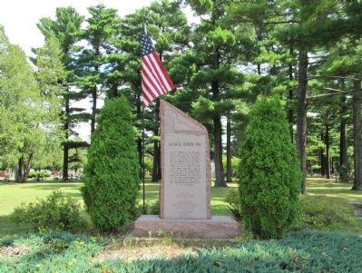 Historical Memorial Park and Marker image. Click for full size.