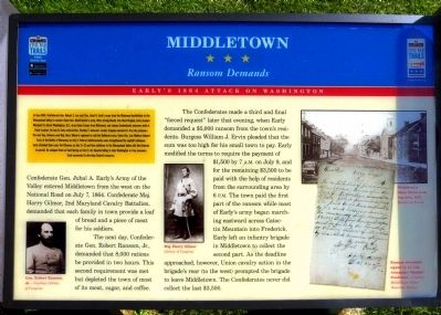 Middletown Marker image. Click for full size.