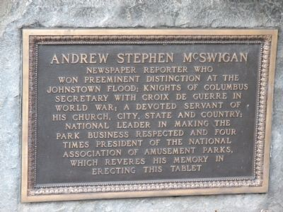 Andrew Stephen McSwigan Marker image. Click for full size.