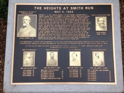 The Heights at Smith Run Marker image. Click for full size.