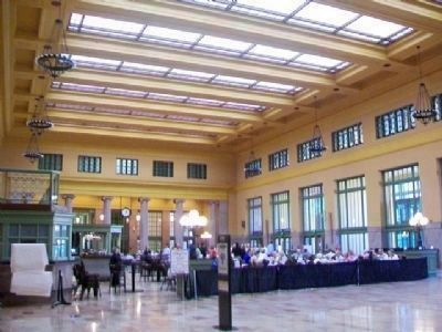 Former Ticket Office and Main Concourse at Union Depot image. Click for full size.